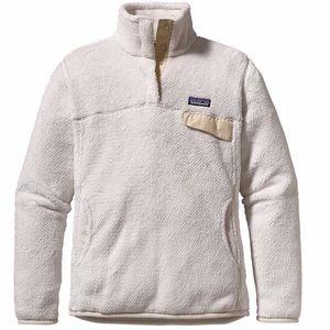 Patagonia Sweaters - White Patagonia Women's Re-Tool Snap-T Fleece